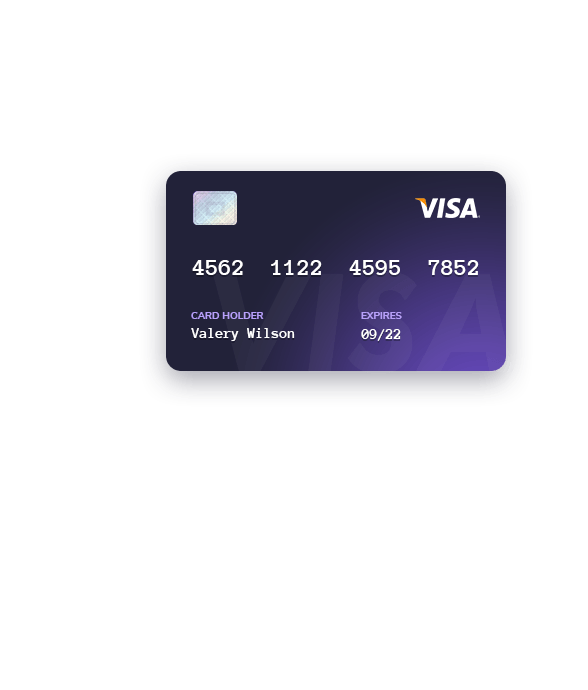 visa card payment method