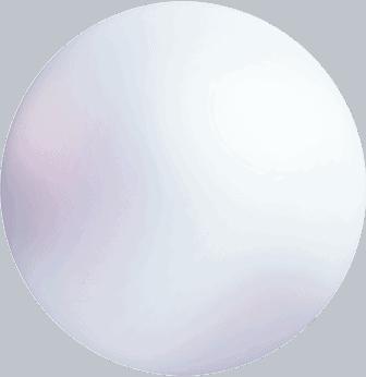 sphere white perle