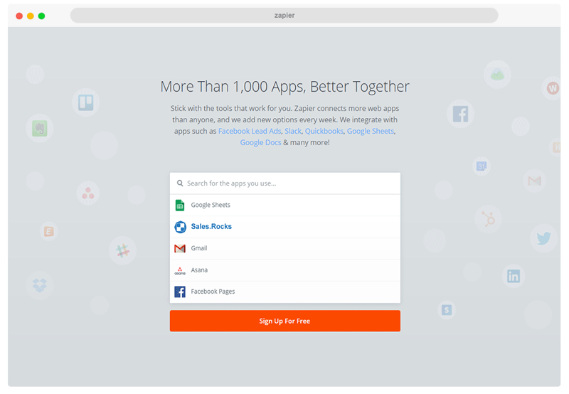 crm zapier integrations