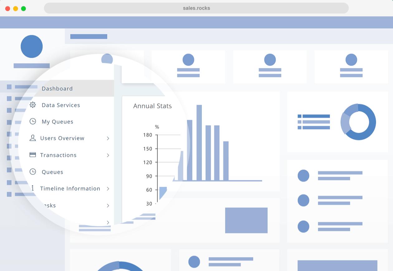 database platform menu