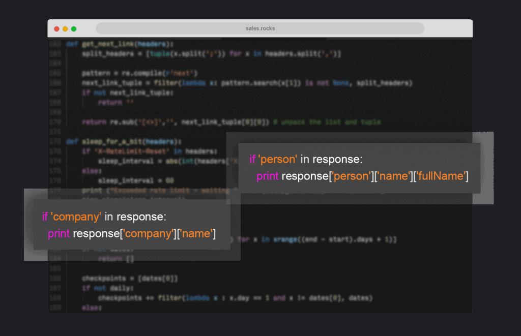 python code database platform