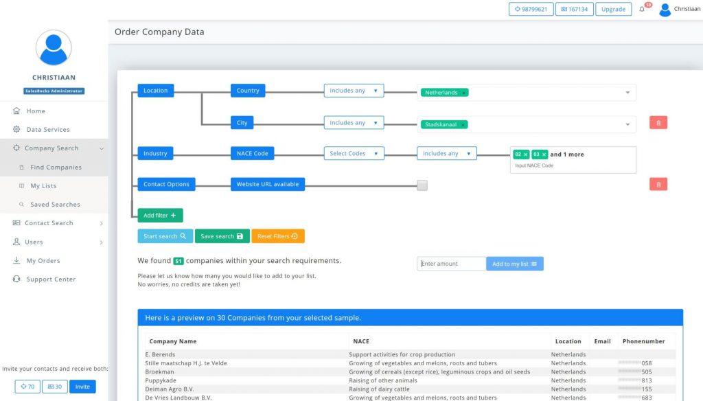 platform development news domain search filter