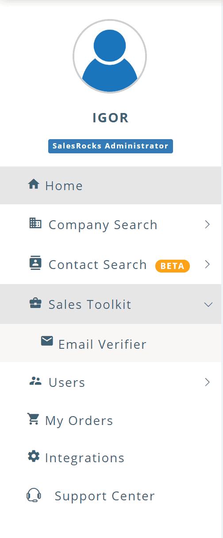 email verification sales.rocks