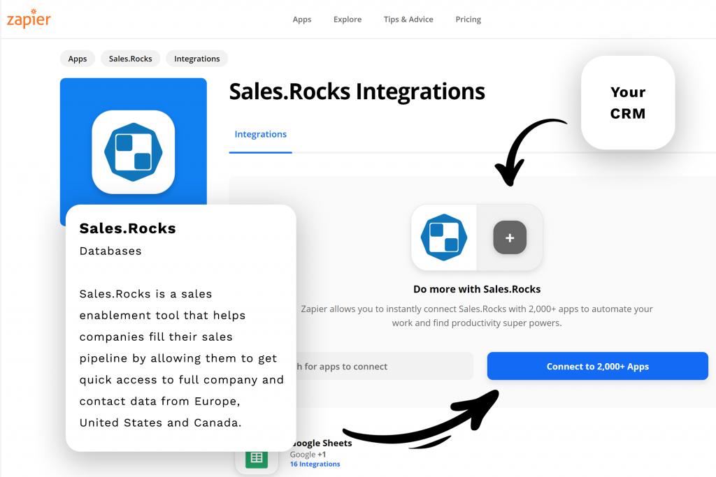 zapier-sales.rocks-integration